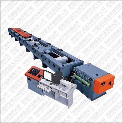 矿用紧凑链卧式拉伸强度试验机
